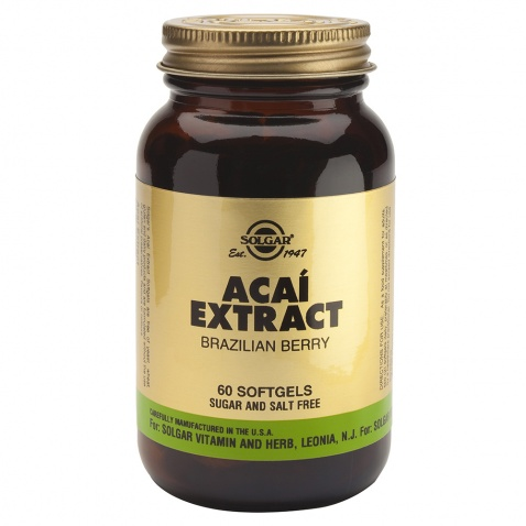 Acai Extract Softgels 60 35516