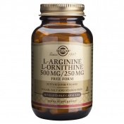 Solgar L-Arginine L-Ornithine 50caps