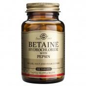 Solgar Betaine Hydrochloride Tabs 100