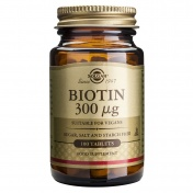 Solgar Biotin  300μg Tabs 100