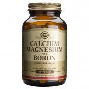 Solgar Calcium Magnesium + Boron Tabs 100