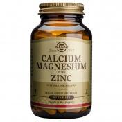 Solgar Calcium Magnesium + Zinc Tabs 100