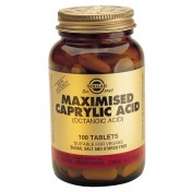Solgar Maximised Caprylic Acid 365mg 100tabs