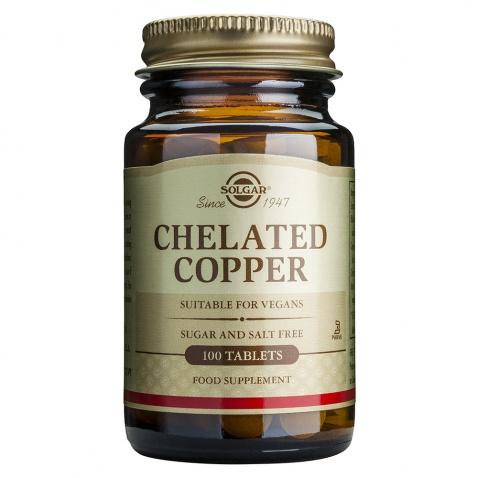 Solgar Chelated Copper 2,5mg 100tabs αρχική   βιταμινεσ συμπληρωματα   μεταλλα   ιχνοστοιχεια   χαλκός