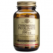 Solgar Chromium Picolinate 200μg 90caps