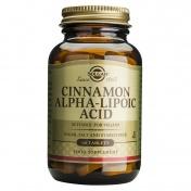 Solgar Cinnamon Alpha Lipoic Acid 60tabs