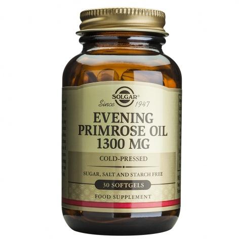 Solgar Evening Primrose Oil 1300mg 30 softgels αρχική   φαρμακα   υγεια   συνηθεισ καταστασεισ   εμμηνόπαυση