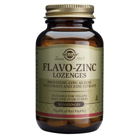 Solgar Flavo-Zinc 23mg 50 Lozenges αρχική   βιταμινεσ συμπληρωματα   μεταλλα   ιχνοστοιχεια   ψευδάργυρος