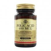 Solgar Folic Acid 400μg 100tabs
