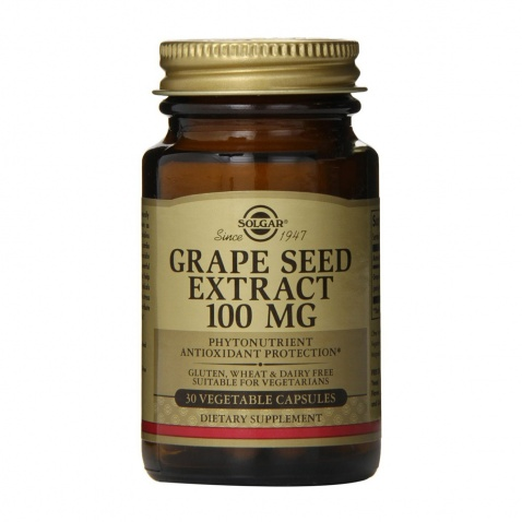 Solgar Grape Seed Extract 100mg 30caps αρχική   βιταμινεσ συμπληρωματα   δημοφιλεισ κατηγοριεσ   καρδιά   κυκλοφορικό