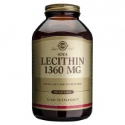 Solgar Lecithin 1360mg 250 softgels