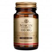 Solgar Niacin 100mg Tabs 100