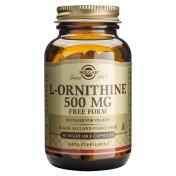 Solgar L-Ornithine 500mg 50caps