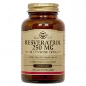 Solgar Resveratrol 250mg 30caps