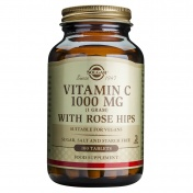 Solgar Vitamin C 1000mg With Rose Hips 100tabs