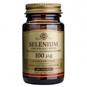 Solgar Selenium 100μg 100tabs