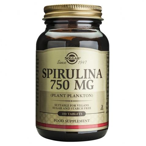 Solgar Spirulina 750mg 100tabs αρχική   βιταμινεσ συμπληρωματα   βοτανα   spiroulina   σπιρουλίνα