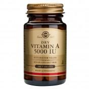 Solgar Vitamin A 5000 IU Dry 100tabs