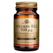 Solgar Vitamin B12 500μg 50caps