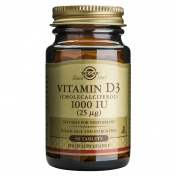 Solgar Vitamin D3 1000 iu 90tabs