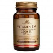 Solgar Vitamin D3 2200 iu 50caps