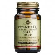 Solgar Vitamin D3 600 iu 60caps