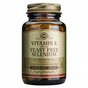 Solgar Vitamin E With Yeast Free Selenium 50caps