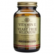 Solgar Vitamin E With Yeast Free Selenium 100caps
