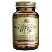 Solgar Dry Vitamin E 200 iu 50caps