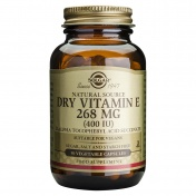 Solgar Dry Vitamin E 268 mg 50caps