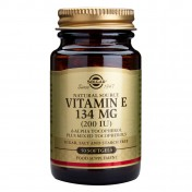 Solgar Vitamin E 200 iu 50 Softgels