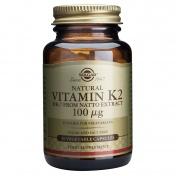 Solgar Vitamin K2 100μg 50caps