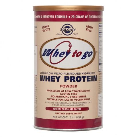 Solgar Whey To Go Protein Chocolate Powder 454gr αρχική   αδυνατισμα διαιτα   αθλητικα συμπληρωματα   πρωτεΐνες