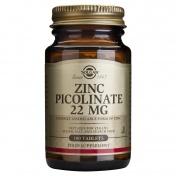 Solgar Zinc Picolinate  22mg Tabs 100