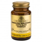 Solgar Echinacea / Goldenseal / Cat's Claw 30caps