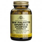 Solgar Saw Palmetto Opuntia Lycopene Complex 50caps