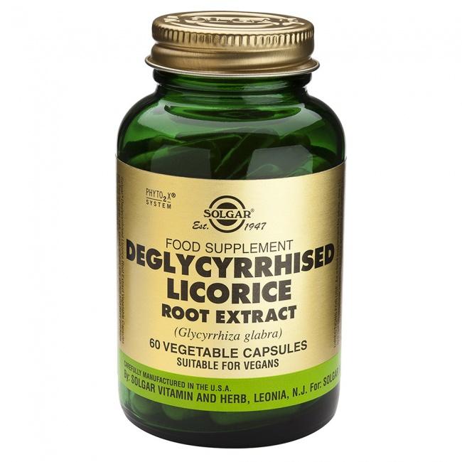 Solgar Licorice Root Extract 60caps