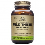 Solgar Milk Thistle Herb & Seed Extract 60caps