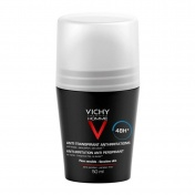 Vichy Homme Deo Bille Anti-Transpirant Peaux Sensibles Roll On 48h 50ml