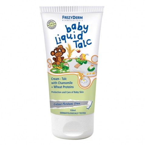 Frezyderm Baby Liquid Talc 150ml αρχική   μαμα   μωρο   φροντιδα παιδιου μωρου   ενυδάτωση προσώπου   σώματος   λ
