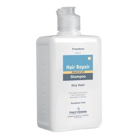 Frezyderm Hair Repair Shampoo 200ml αρχική   καλλυντικα   περιποιηση μαλλιων   ξηρά μαλλιά