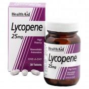 Health Aid Lycopene 25mg Capsules 30