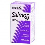 Health Aid Salmon Oil Freshwater 1000mg Capsules 60