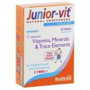 Health Aid Junior Vit Tablets 30 Blister
