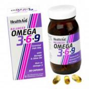 Health Aid Omega 3-6-9  1155mg Capsules 60