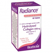 Health Aid Radiance Hydrolysed Collagen 1000mg with Vit.C‎ 60 tabs