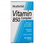 Health Aid B50 Complex Prolonged Release Tablets 30