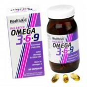 Health Aid Omega 3-6-9  1155mg Capsules 90