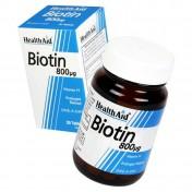 Health Aid Biotin 800μg Tablets 30