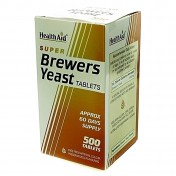 Health Aid Super Brewers Yeast Tablets 500